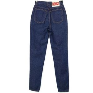 Vintage Bongo Skinny Tapered Mom Jeans High Rise 5